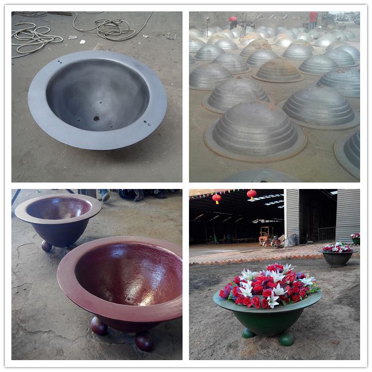 Round Flower Bowl Planter