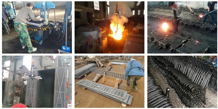 Ductile Cast Iron Bench Leg