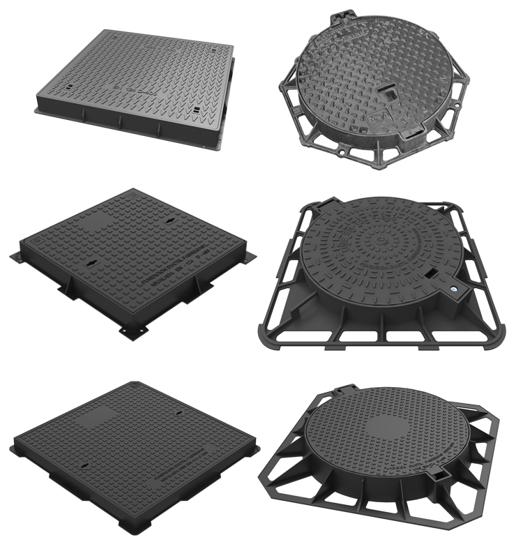 Ductile Iron Sewer Cover