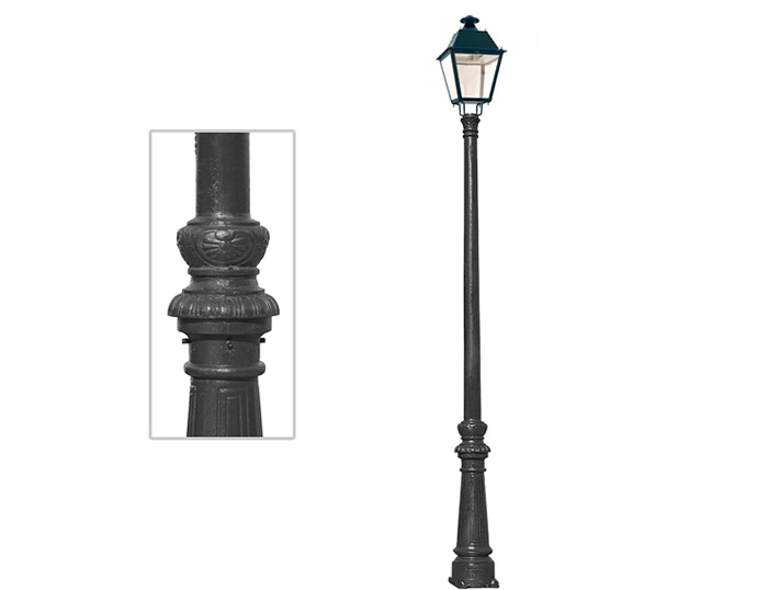 Ductile Iron Lamp Post