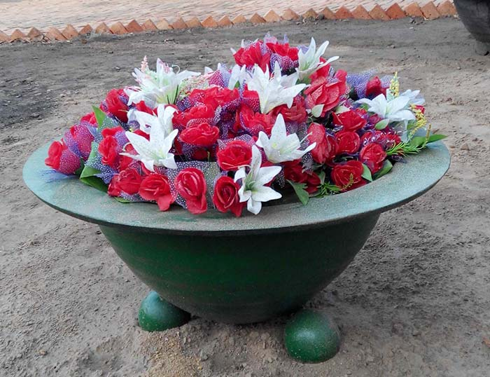 Round Flower Bowl Planter
