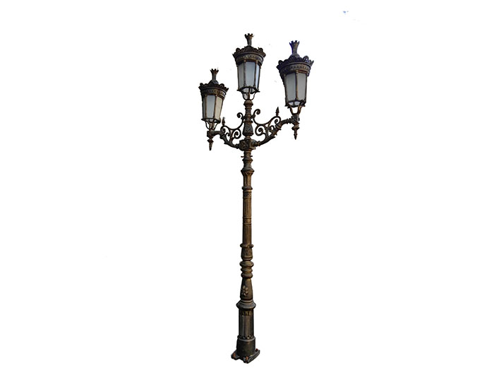 Aluminum Lamp Pole